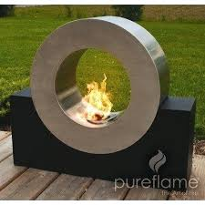 stainless steel bio ethanol outdoor fireplace this model of diy offers fireplaces