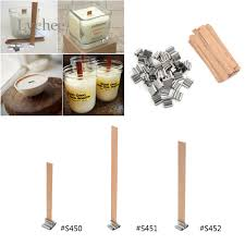 lychee 50 items new arrival 8mm 12 5mm 13mm picket candles wick sustainer candle wick core
