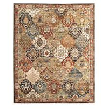 patchwork medallion multi 5 ft x 7 ft area rug