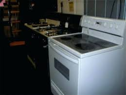 white glass top stove more choices kenmore best way to clean used white glass top stove electric cleaning stains