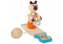 """Купить Богородскую <b>игрушку</b> """"<b>Мишка</b> с барабаном"""""""