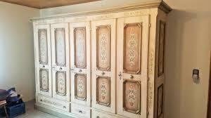 Anno 1700 Altweiß Schlafzimmer Schrank Alpenland Möbel