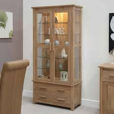 ... Decoration:Tall Glass Curio Cabinet 2 Door Glass Display Cabinet White  And Glass Display Cabinet