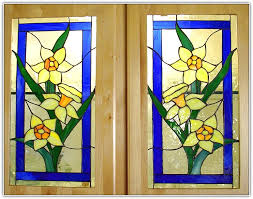 stained glass kitchen cabinet doors home design ideas