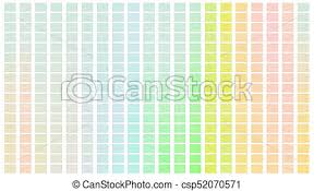 Color Shade Chart Color Palette Palette Of Colors White Background Color Shade Chart