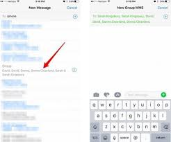 How To Create Contact Groups Text On Iphone Ios 12 In 2019