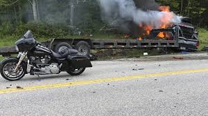 Pickup Truck In <b>New</b> Hampshire Collides With Marine <b>Motorcycle</b>
