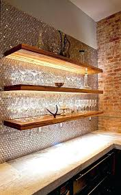 Led Floating Glass Shelves Simple Floating Shelves With Lights Led Floating Shelf Led Floating Shelves