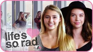 makeupbymandy24 and lia marie johnson selfie blindfold makeup challenge life s s o r a d ep 5 you