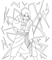 Naruto Coloringctures Pages Sketchesnterest Printable Book
