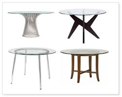 furniture amazing modern round glass dining tables 34 splurge vs steal top 1 modern round glass