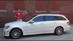 These figures make it taller than the rs6 avant but more than an inch shorter sport turismo. The Mercedes Benz E63 Amg Wagon Is The Ultimate Family Car Youtube
