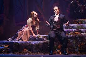 Into The Woods Set Design Broadway Review Strong Acting And Singing Performances Make Into