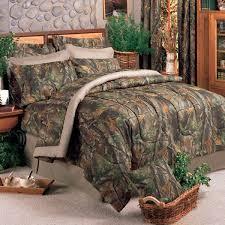 realtree hardwoods camo bedding