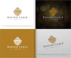 logo design by rideaz for round table law llp design 14775902