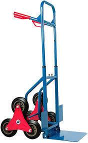 Zusammengeklappt findet die sackkarre auf kleinstem raum platz. Stel4style Treppenkarre 200kg Treppensackkarre Transportkarre Sackkarre Treppen Sackkarre Amazon De Kuche Haushalt