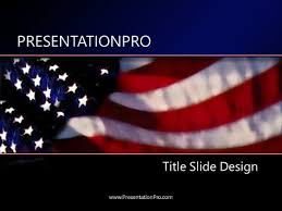 Us Flag Powerpoint Template Background In America Powerpoint