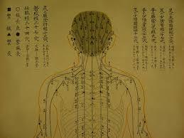 Shiatsu Tsubo Chart Acupuncture Chinese Medicine