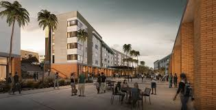 Vassar City Lights Affordable Housing Project University Of California Riverside And American Campus
