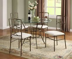 interior small round dining table set in kitchen beautiful excellent designs 3 sets room glass