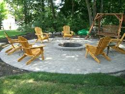 pea gravel patio fire pit ideas and designs to improve your backyard homesteading throughout outdoor fire