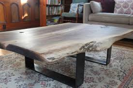 Black Walnut Coffee Table Exquisite Live Edge Coffee Table Build Up House