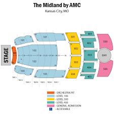 Midland Theater Kansas City Seating Chart October 22