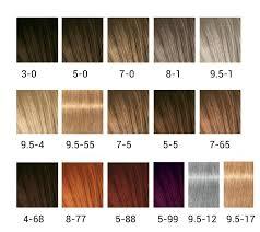 Schwarzkopf Igora Personality Color Chart Schwarzkopf Igora Expert Mousse Color Chart Www