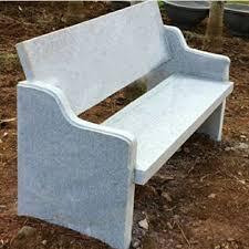 4 seater natural stone garden bench