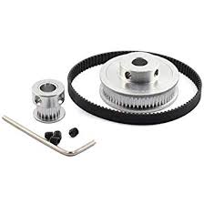 HJ Garden <b>GT2</b>/2GT Timing Pulley Belt Set <b>20Teeth</b> 60Teeth Closed ...