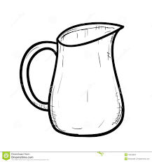 jug clipart black and white. royalty-free vector jug clipart black and white j