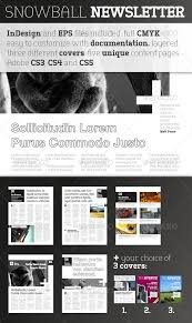 newsletter template for pages snowball newsletter template newsletter templates print