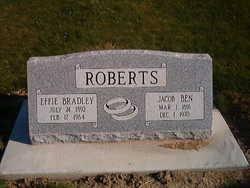 Effie Bradley Roberts (1892-1964) - Find A Grave Memorial