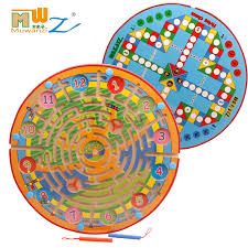 Wooden Bead Game Classy Wooden Balls Combo Magnetic Iron Brush Maze Bead Game Baby Puzzle