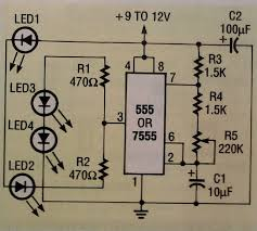 led strobe circuit needed this what i want but to beef it up for more leds can i just put in a transistor on pins r1 and r2 and change the values of those same resistors