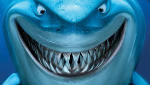 sharp teeth. more teeth than the osmond family sharp f