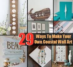 29 Ways To Make Your Own Coastal Wall Art