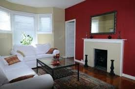 red walls in living room eclectic living room red accent walls living room