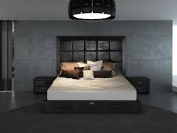 Great Glam Black   Armani Xavira Collection Bed Contemporary Bedroom