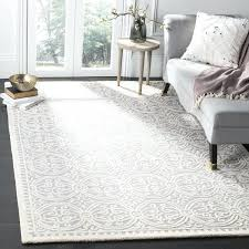 5x8 carpet handmade silver ivory rug 5x8 red carpet 5x8 area rug