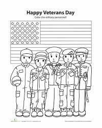 Small Picture Best Veterans Day Coloring Pages For Kids Printable Images New