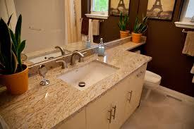 image of colonial cream granite vanity