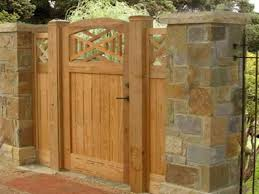 brick and wood fences wooden fence gate designs pt fence gate designs interior designs