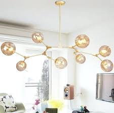 glass ball chandelier medium size of decoration gold color chandelier ball shaped
