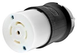 hubbell hbl2813 30a 120 208v 4p5w nema l21 30c 3 phase black hubbell hbl2813 30a 120 208v 4p5w nema l21 30c 3 phase black white nylon twist lock connector