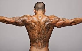 татуировки фото мужские Hd 19201200 мужчина с тату на спине