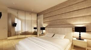 Mirror Wall Bedroom Ideas Interior Wood Wall Covering Ideas