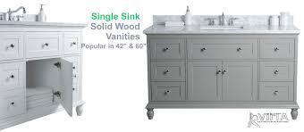 bathroom vanities. Single Sink Solid Wood Vanities In 42\ Bathroom