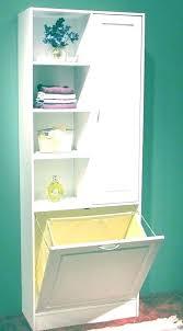 built in laundry hamper built laundry hamper with shelves chapter 2 bathroom storage in closet walk