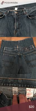Lucky Brand Jeans Size 34 Straight Leg Lucky Jeans